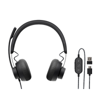 Headset Logitech Zone Wired