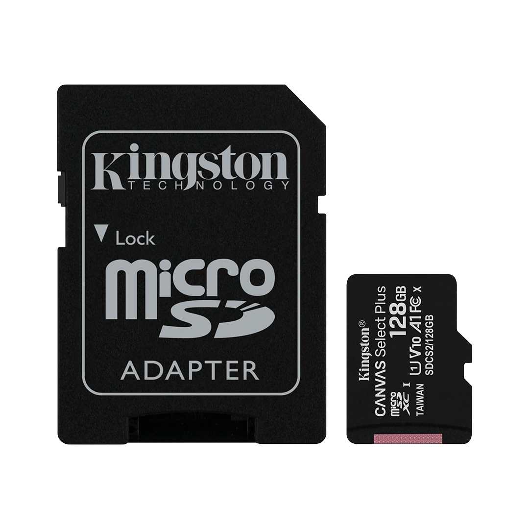 Tarjeta de Memoria microSD Kingston Canvas Select Plus 128 GB