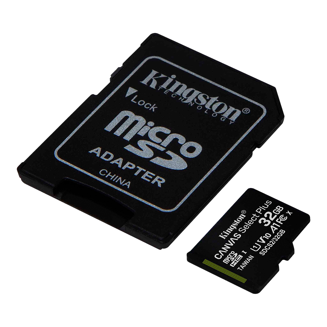 Tarjeta de Memoria microSD Kingston Canvas Select Plus 32 GB