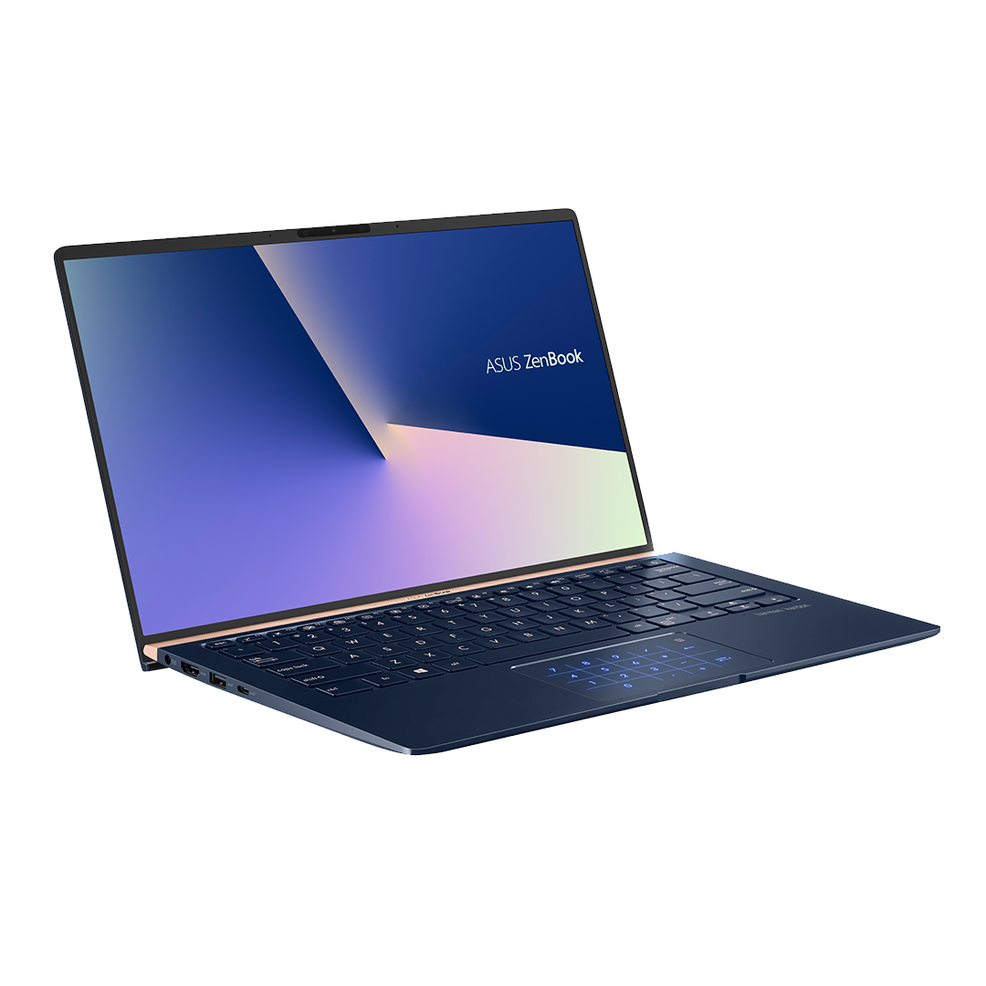 "Notebook ASUS ZenBook, i7-10510U, Ram 16GB, SSD 512GB, Led 14"", W10 Pro"