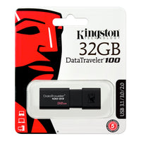 Pendrive Kingston USB 3.1 Gen 1 DataTraveler 100 G3 32GB