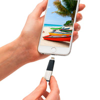 Pendrive SanDisk iXpand Mini 64GB para iPhone y iPad, Conector Lightning™ y USB 3.0