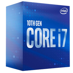 Procesador Intel Core i7-10700 2.9 GHz (hasta 4.8 GHz) Cache 16MB Socket LGA 1200
