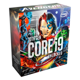 Procesador Intel Core i9-10900K 3.7GHz Ten-Core LGA Socket 1200, Edición Especial Marvel Avengers
