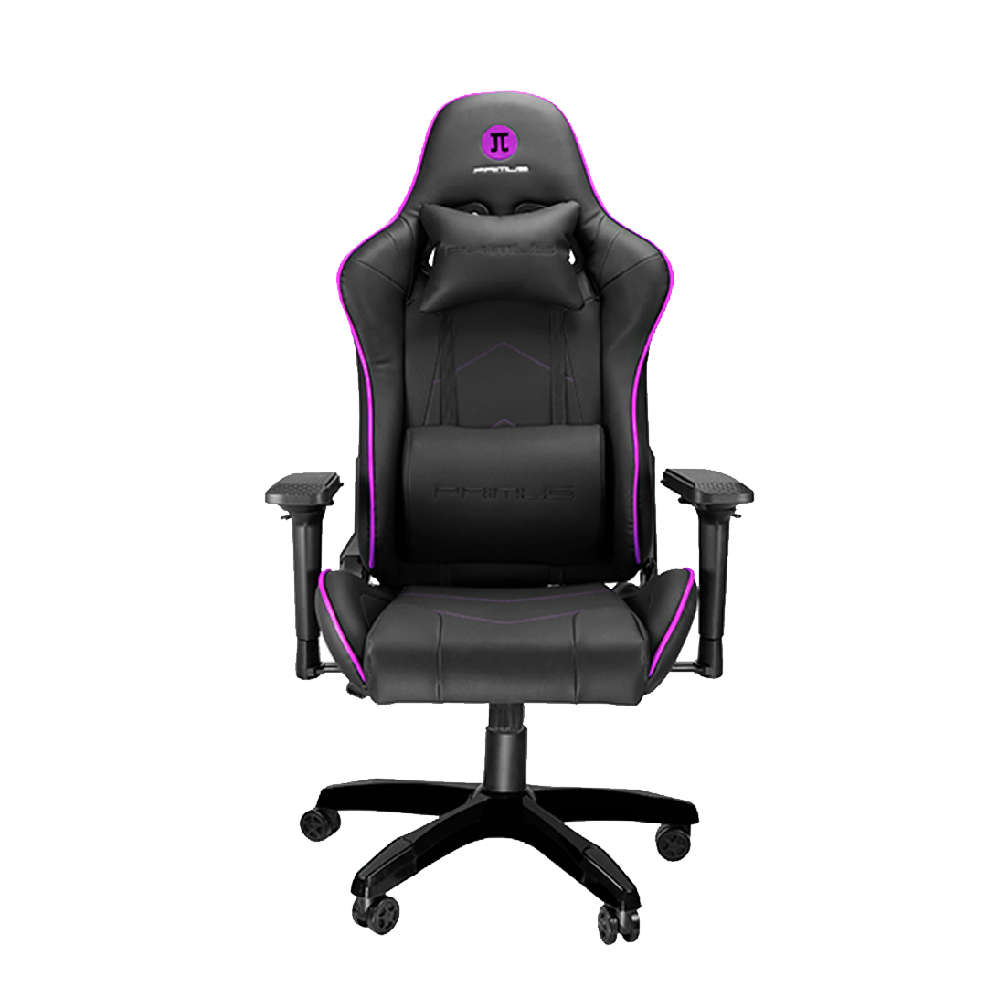 Silla Gamer Primus Gaming Thronos 200S, Reclinación 135º, Hasta 140kg, Black