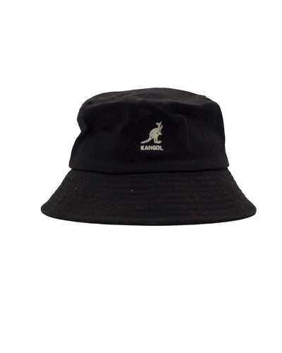 Kangol Cappello Washed Bucket Black