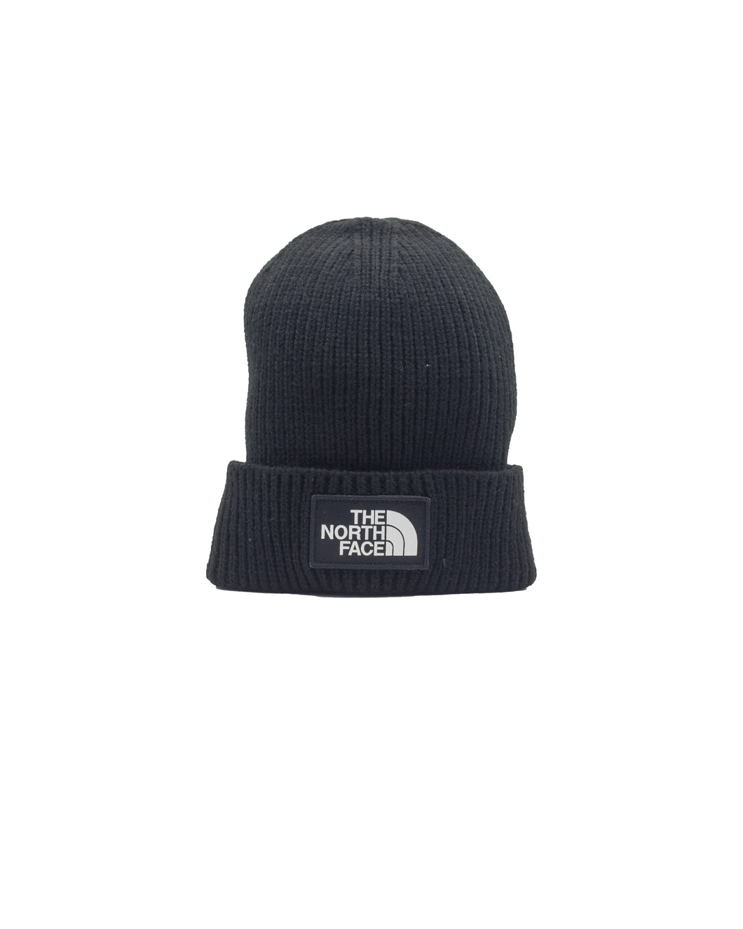 The North Face CappelloLogo Boc Cuffed Beanie BLACK