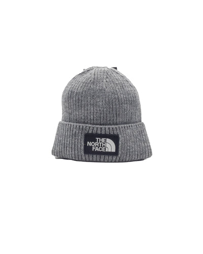 The North Face Cappellologo Boc Cuffed Beanie Grey