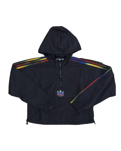Adidas Giacca Cropped Halfzip BLACK