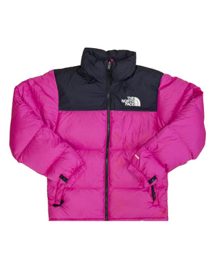 The North Face M 1996 Retro Nuptse Jacket Black Mr Pink