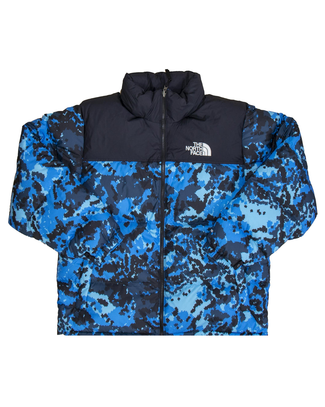 The North Face M 1996 Retro Nuptse Jacket Black Clear Blue