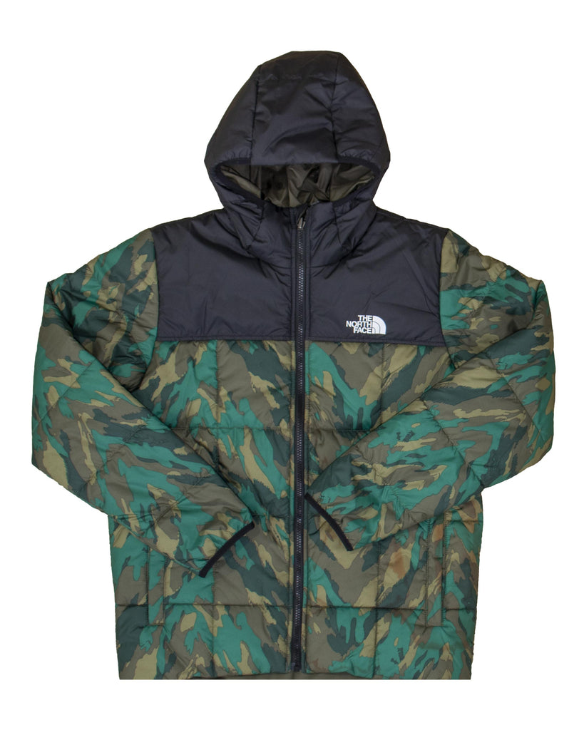 Load image into Gallery viewer, The North Face Giacca Rev Perrito Ever Green