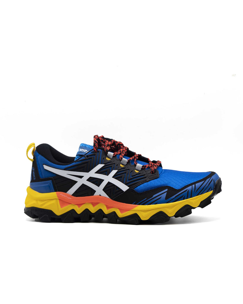Load image into Gallery viewer, Asics GEL FujiTrabuco 8Directoire Blue White