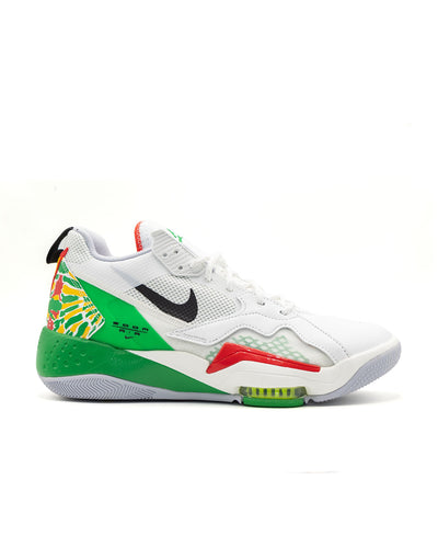 Nike Jordan Zoom  92 Summit White Black Lucky Green Track Red