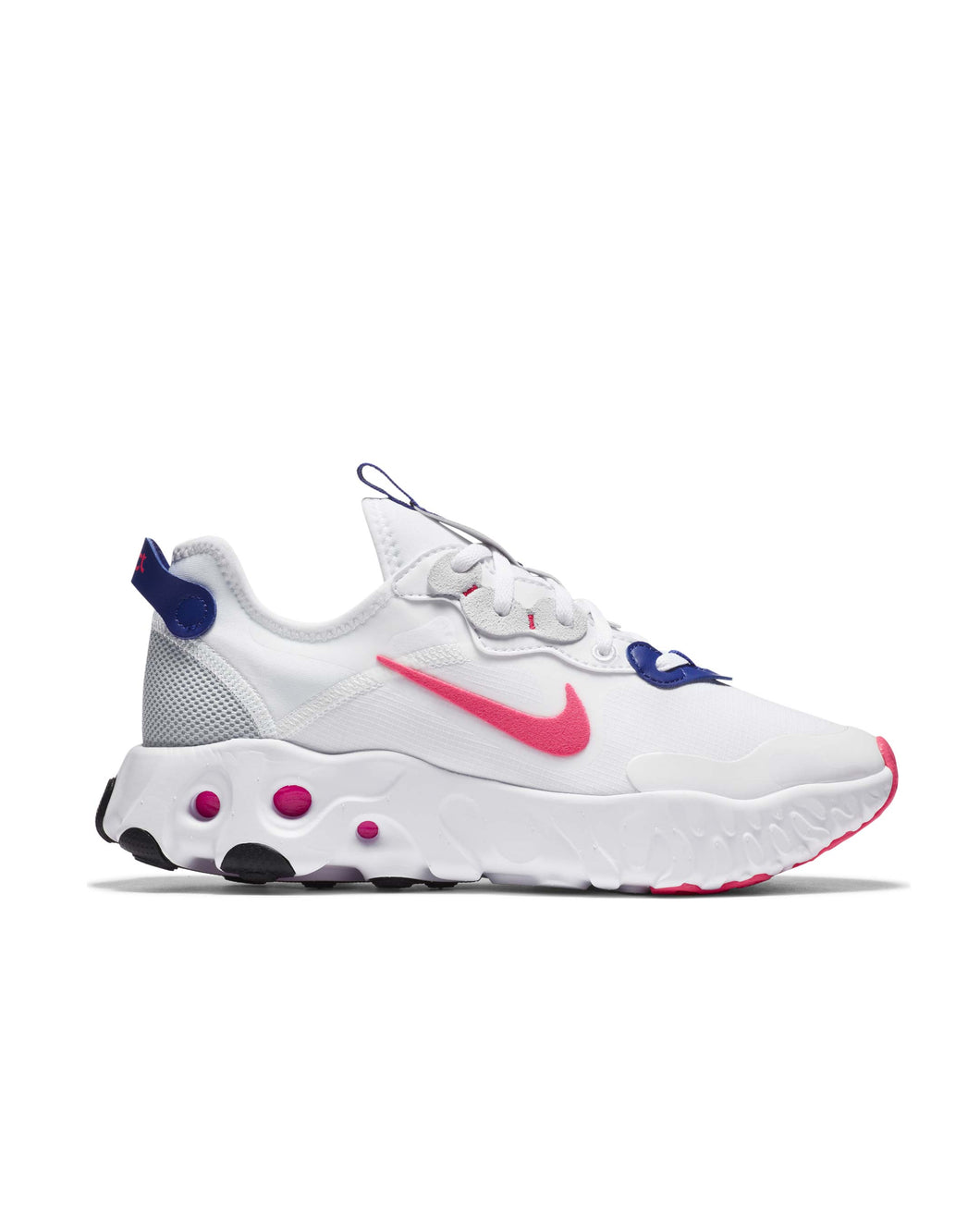 Nike React Art3mis White Hyper Pink Concord Pure Platinum