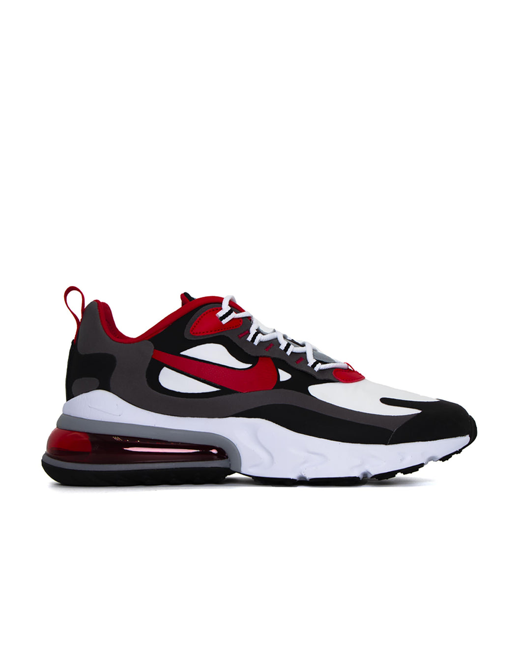 Nike Air Max 270 React Black/University Red-White-Iron Grey