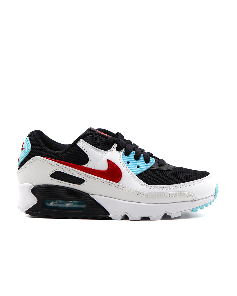 Load image into Gallery viewer, Nike Air Max 90 Summit White Chile Red Bleached Aqua