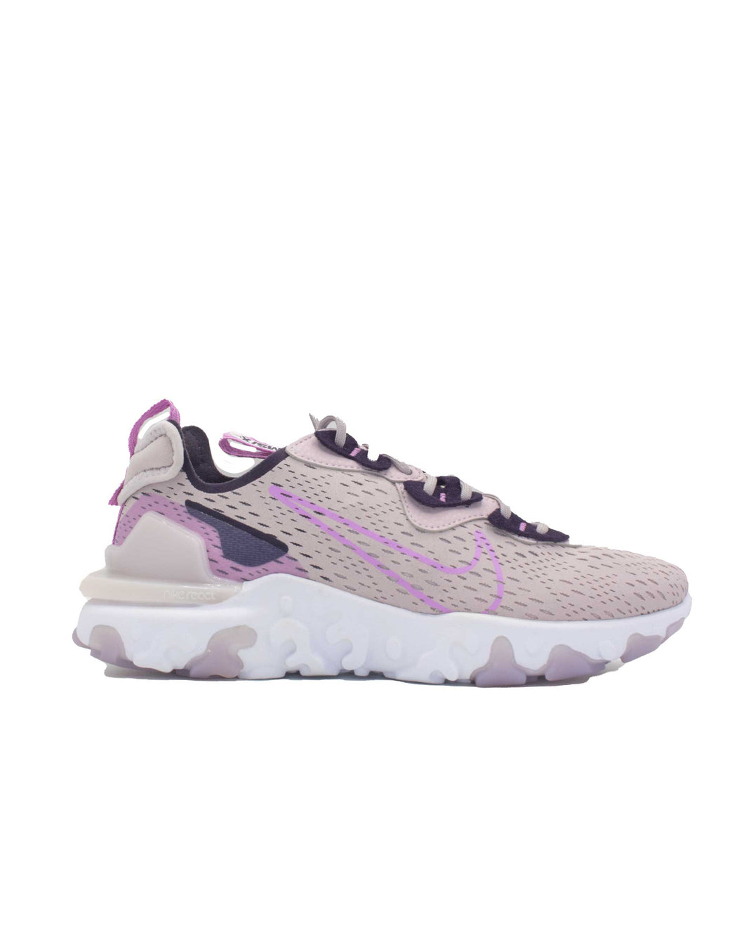 Nike W Nsw React VisionPlatinum Violet Beyond Pink Cave Purple