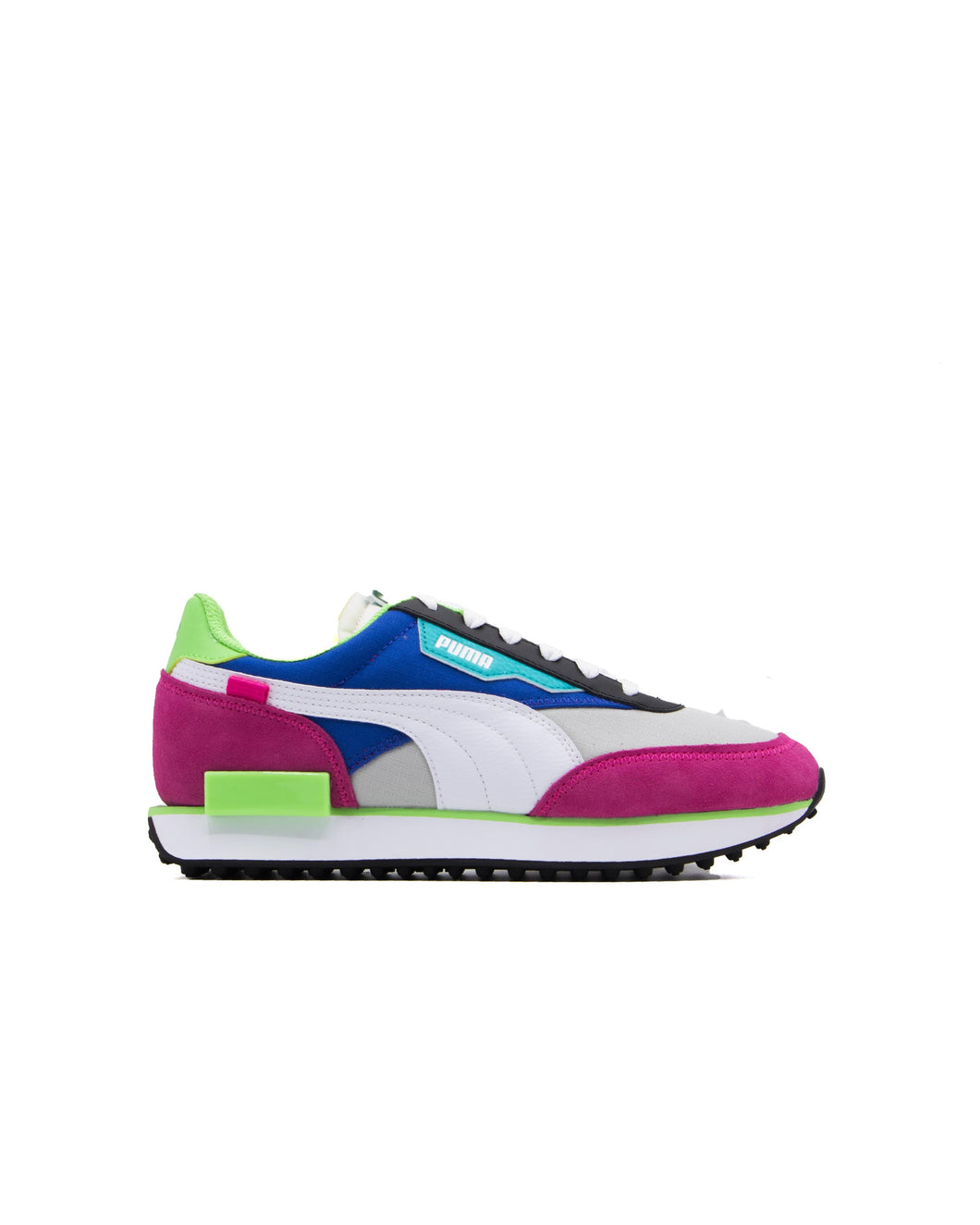 Puma Future Rider Play On Glowing Pink-Lapis-Viri-Green