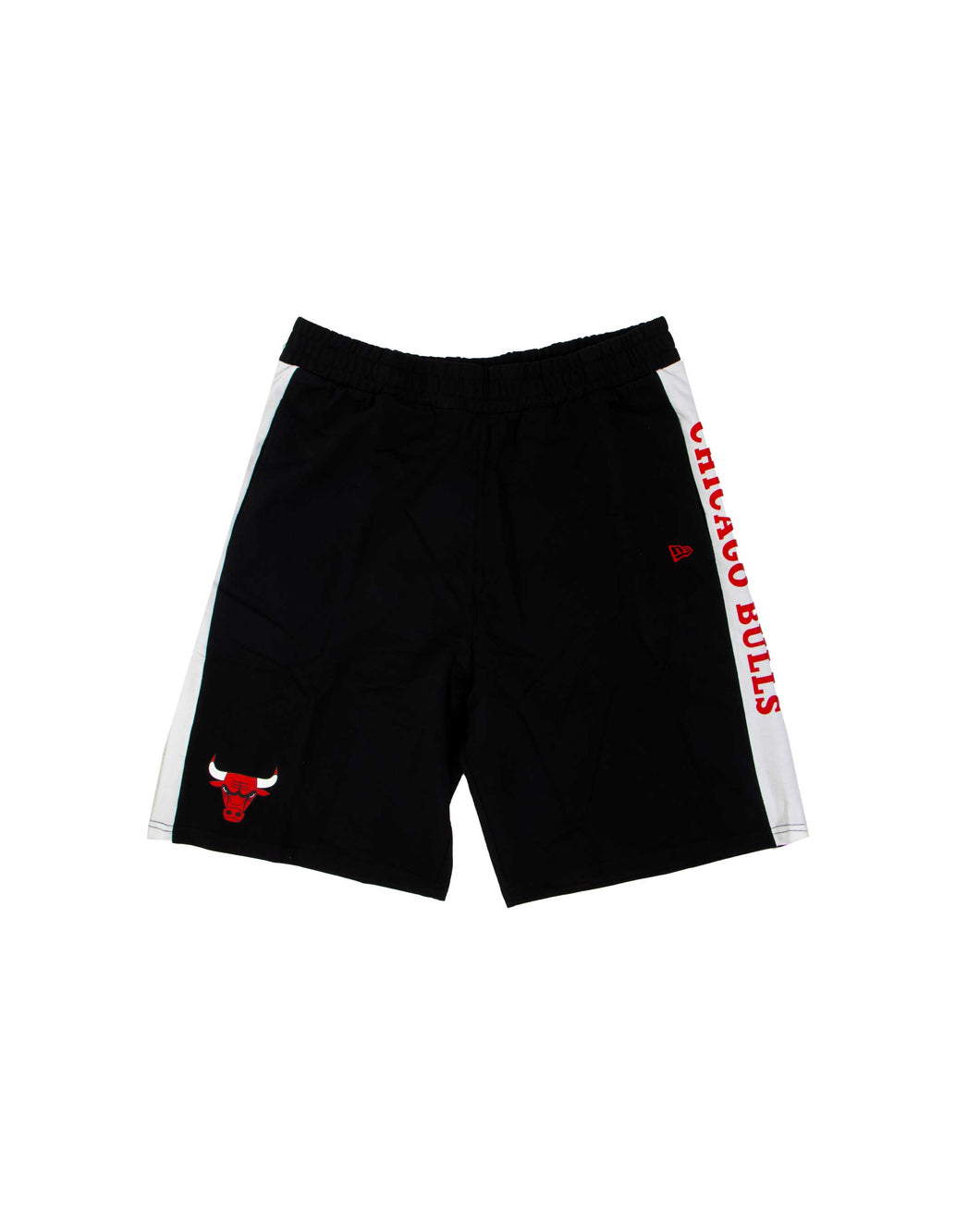 New Era Nba Contrast Short Chicahho Bulls Black White