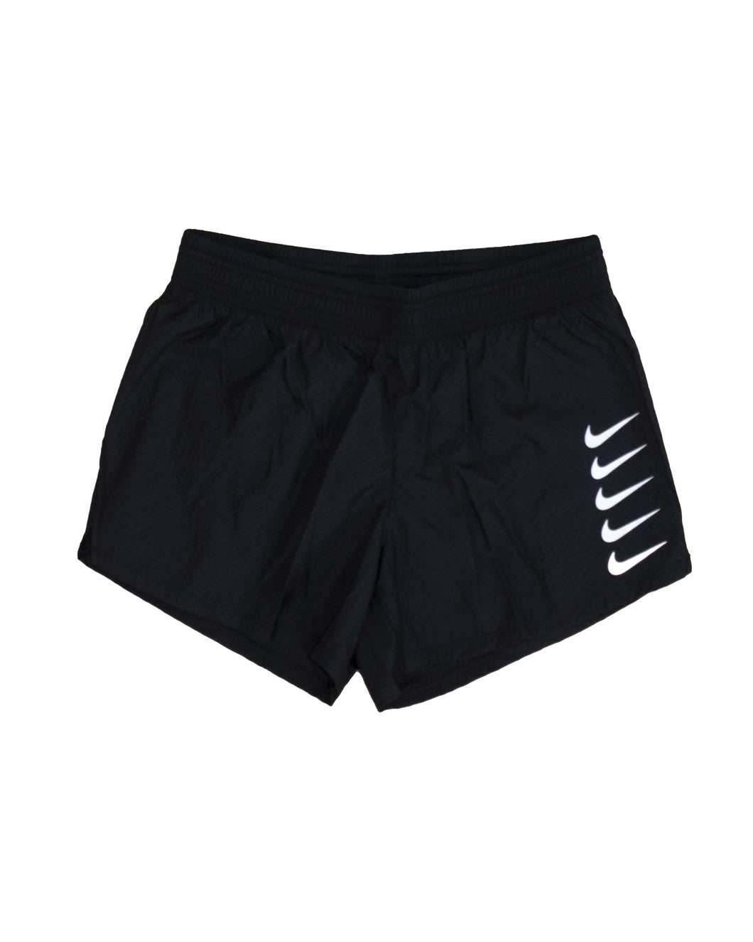 Nike Short Swoosh Run Black White