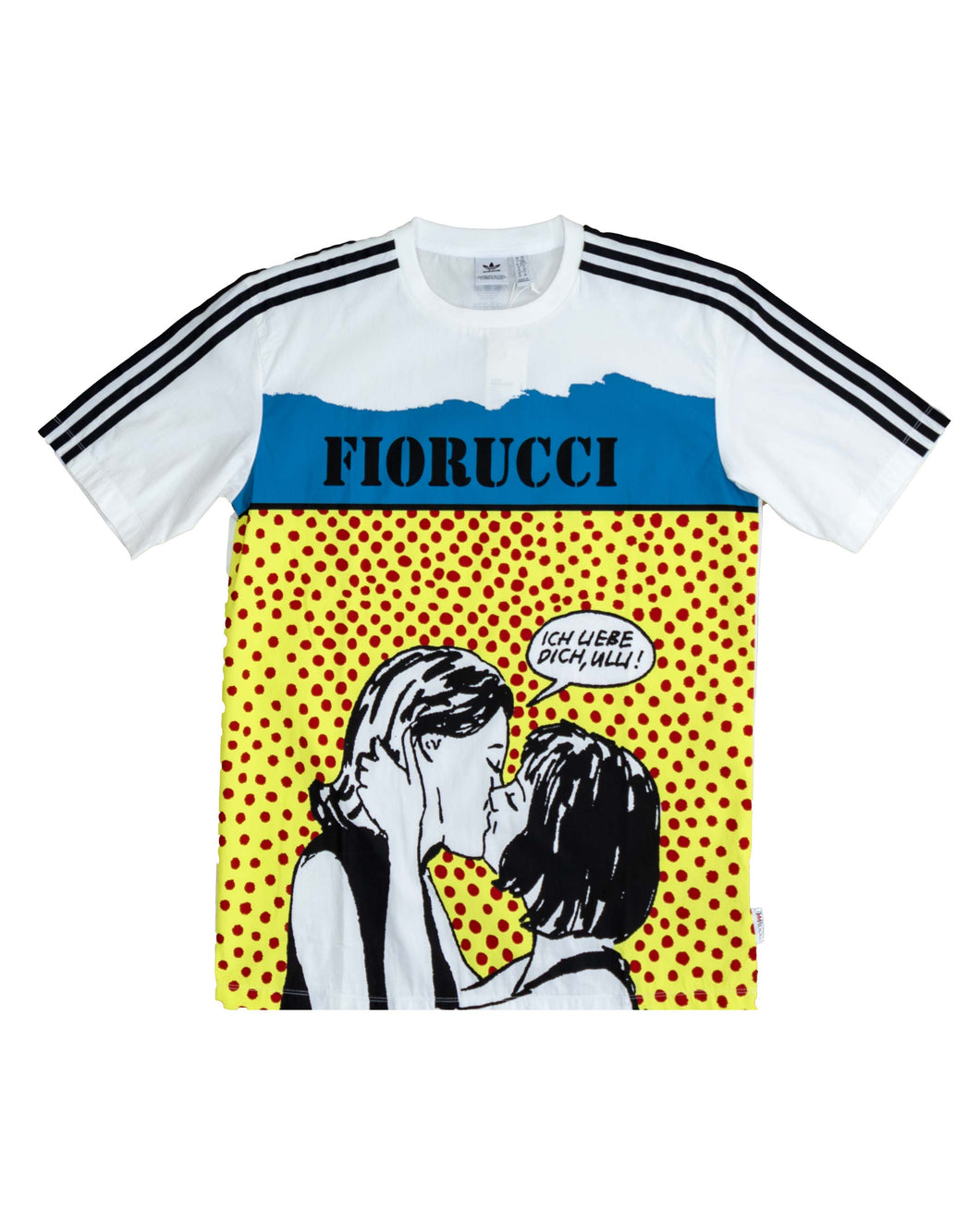 Adidas T Shirt Graphic White