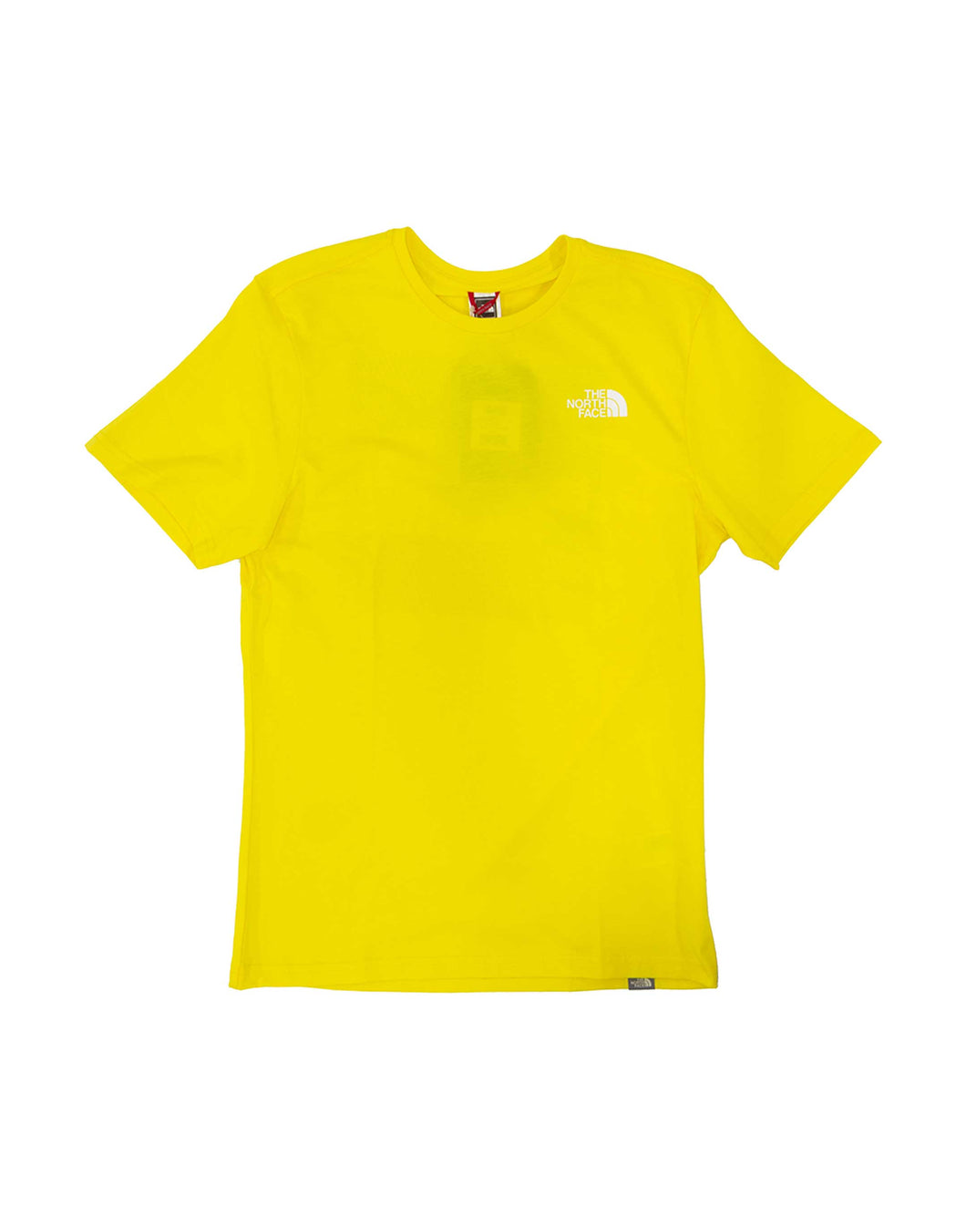 The North Face T-Shirt Ss Rnbw Lemon/White