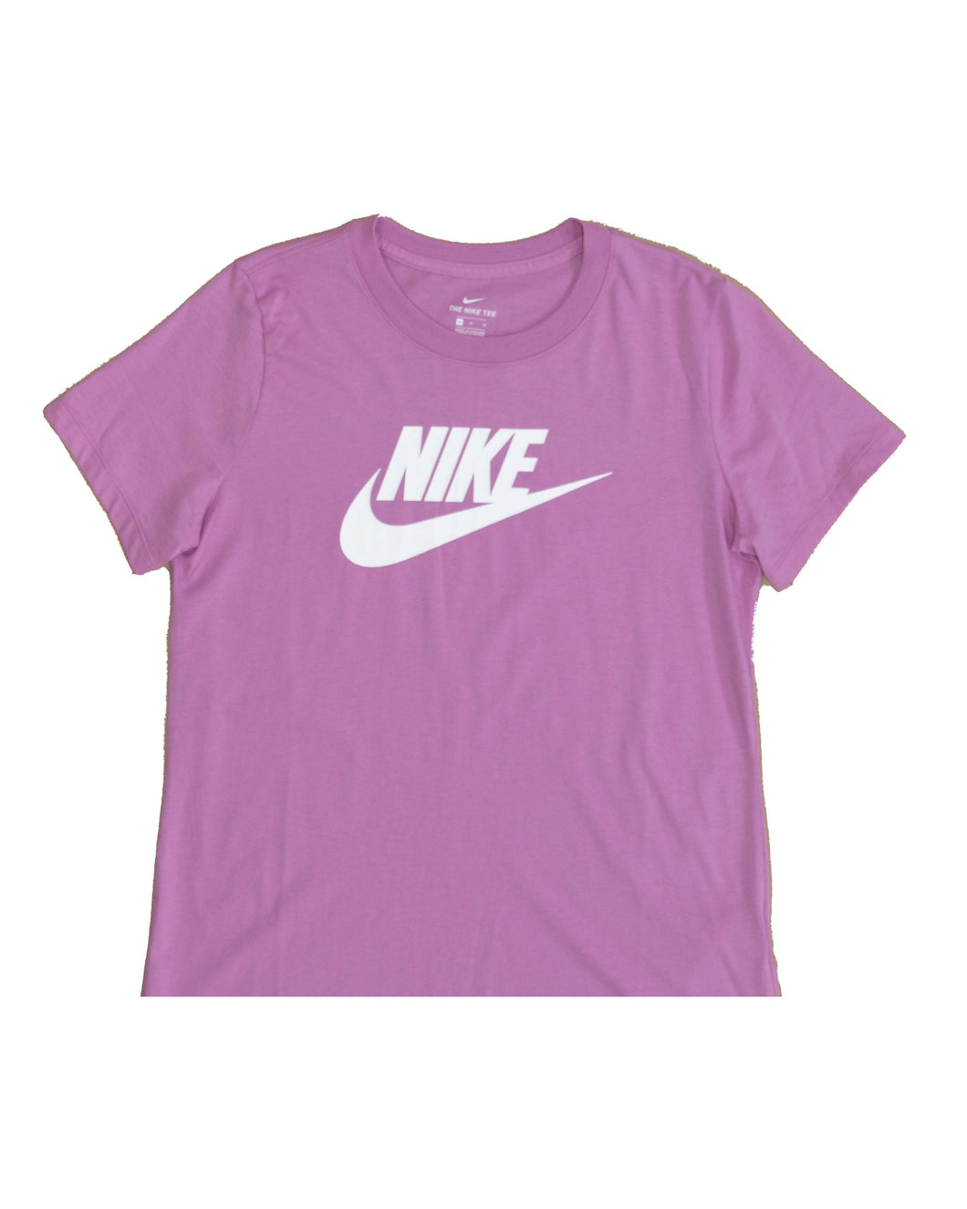 Nike T Shirt Essential Icon Future Magic Flamingo White