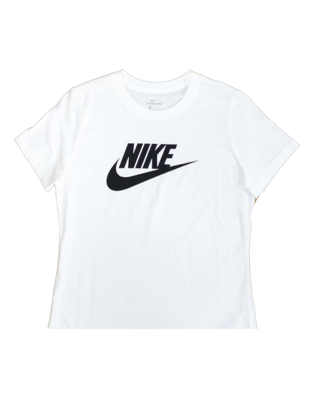 NIKE T SHIRT ESSENTIAL ICON FUTURE WHITE BLACK