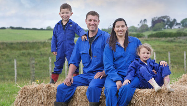 Kane and his family