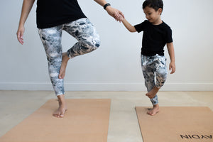 Mummy & Me Yoga Mats and Stardust Tights