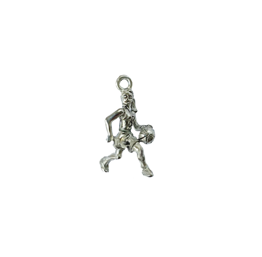 Basketball Player-Girl Charm