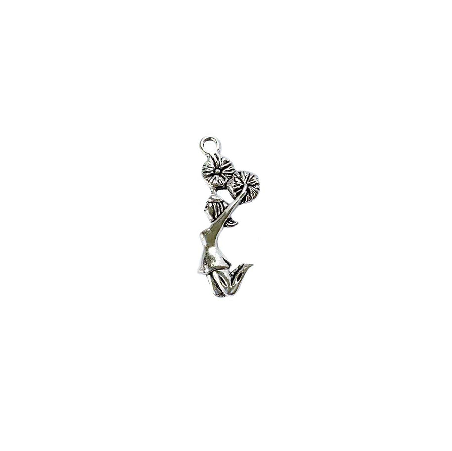 Cheerleader Side View Charm