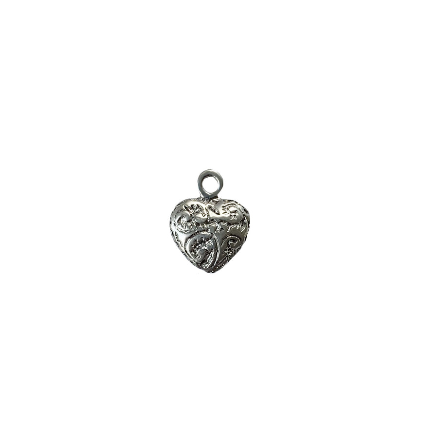 Heart Etruscan Charm