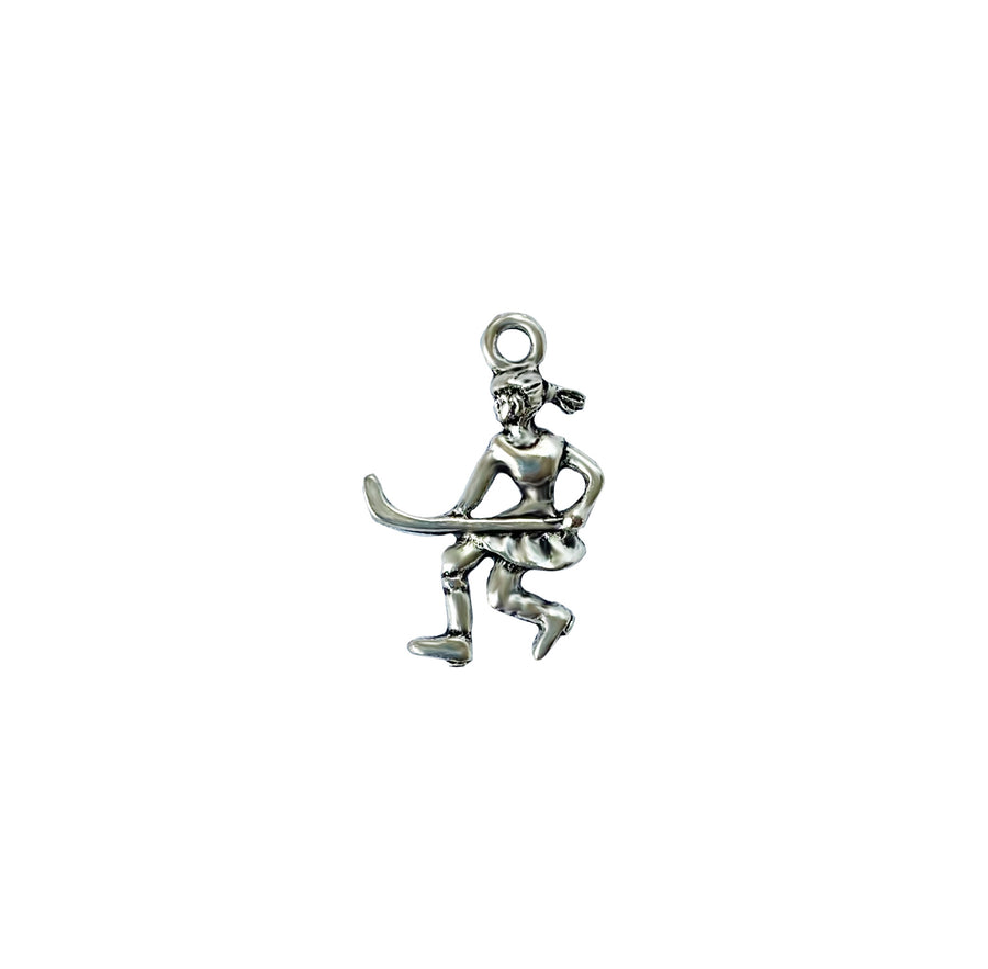 Field Hockey Player  Charm