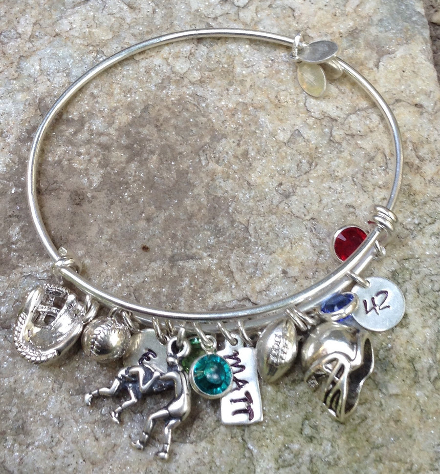 Sterling Silver Adjustable Bangle Bracelet