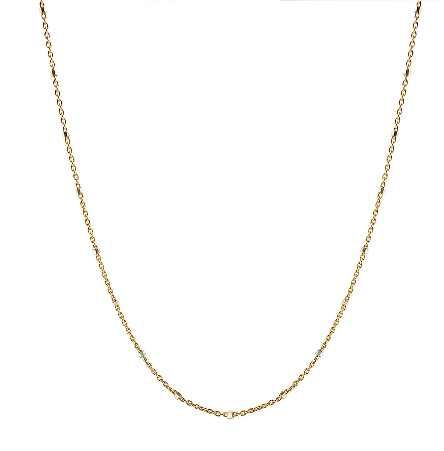 Two-Tone Sterling Silver Chain