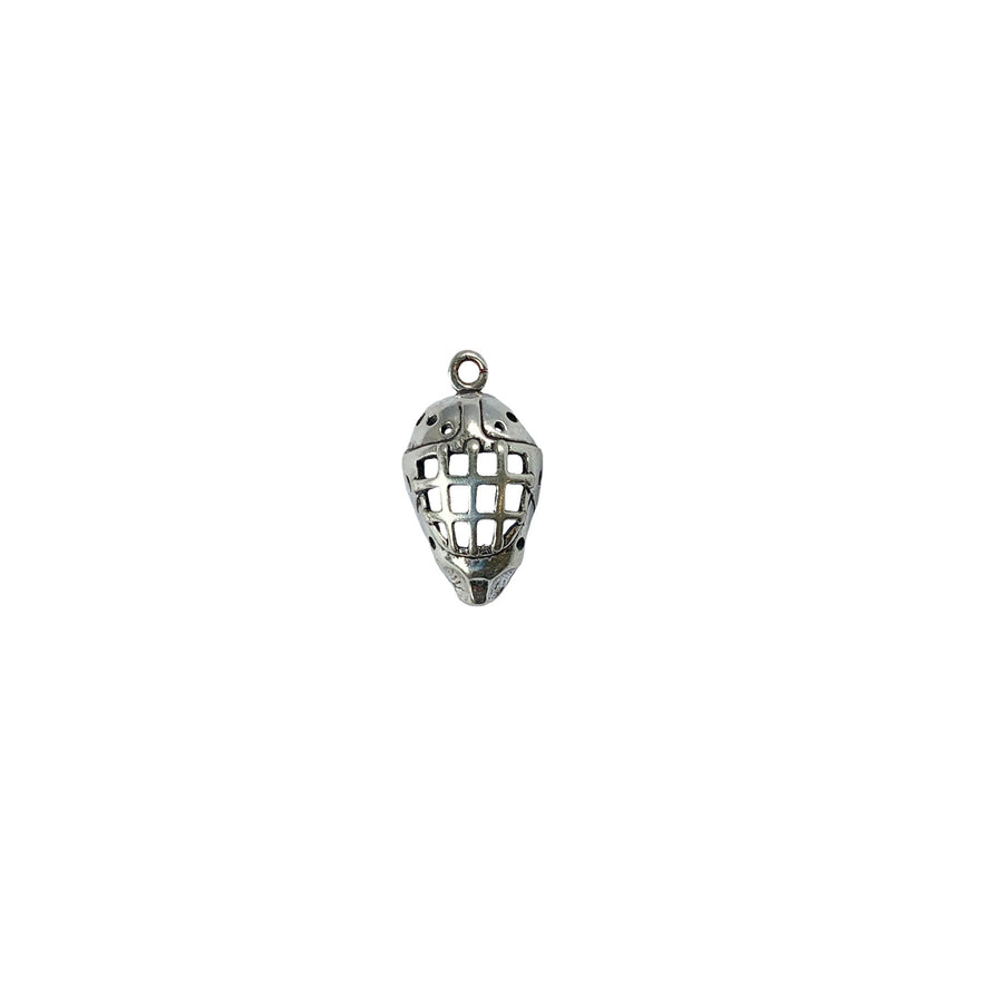Hockey Goalie Mask Charm