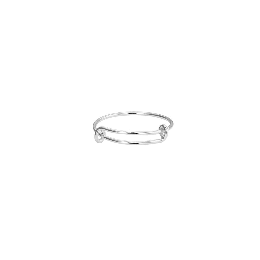 Sterling Silver Adjustable Ring