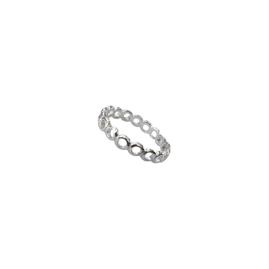 Sterling Silver Stackable Open Circles Ring