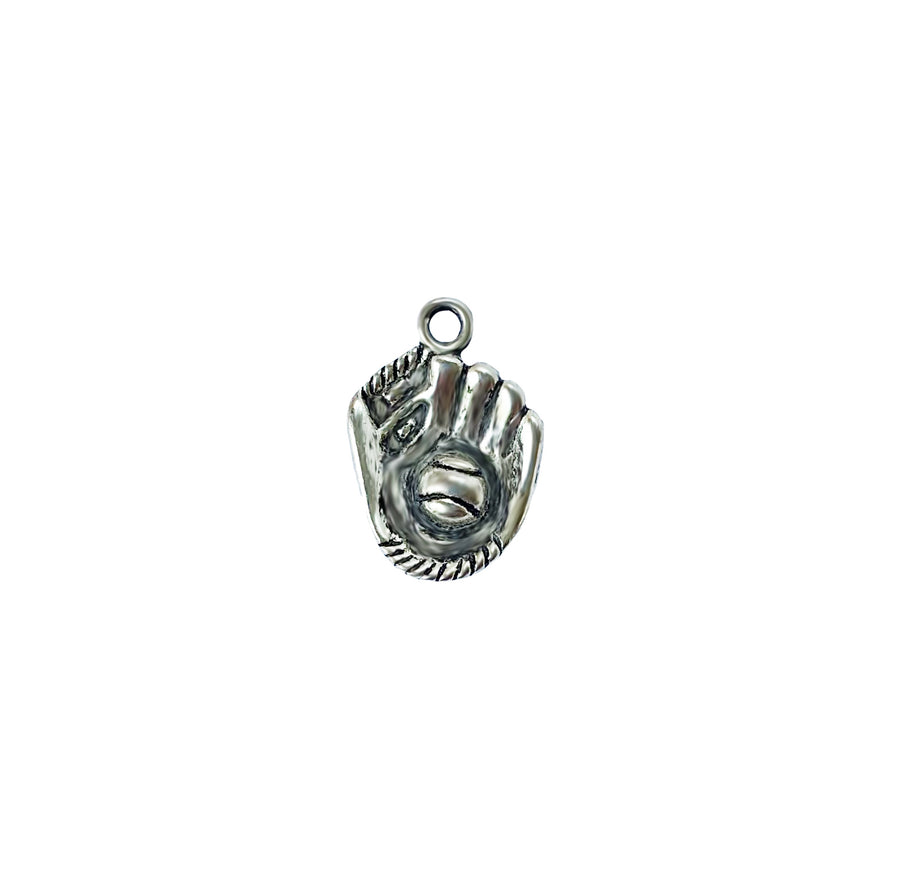 Baseball/Softball in Glove Charm