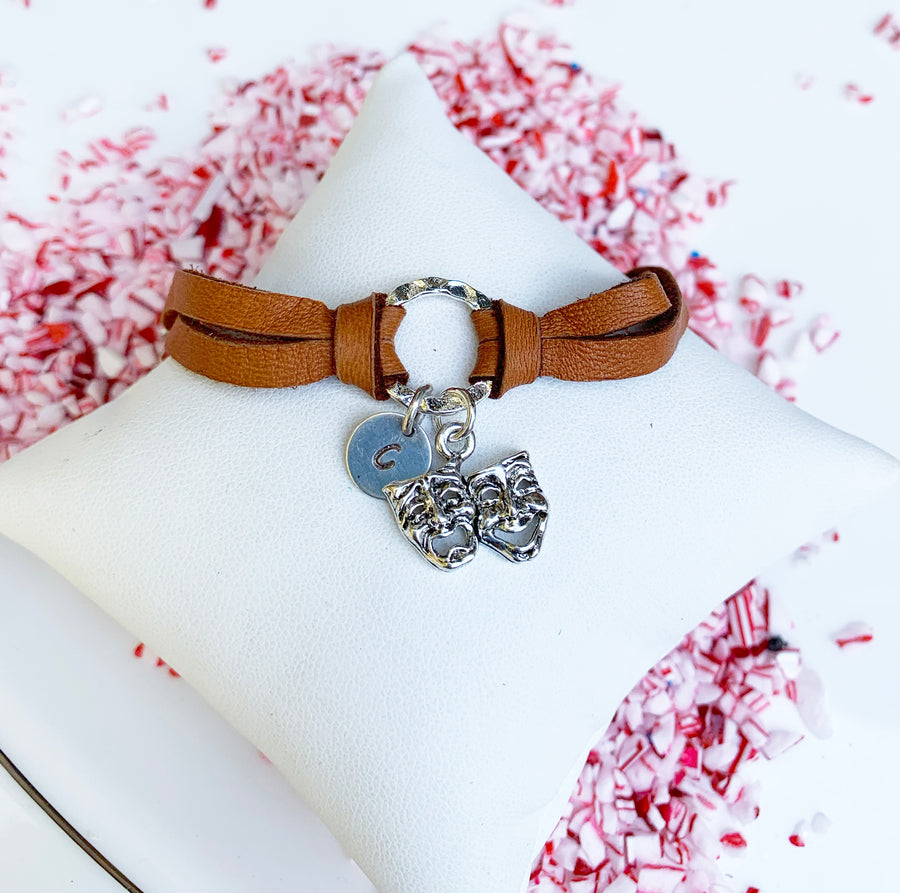 Leather Deerskin Bracelet