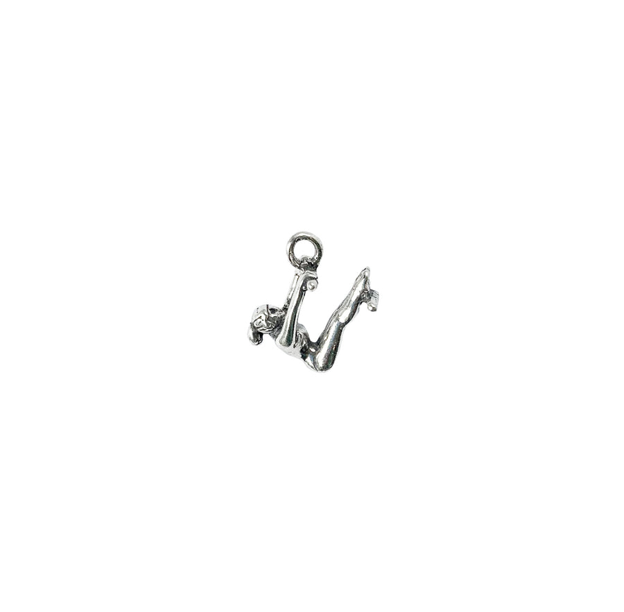 Gymnast on Uneven Bars Charm