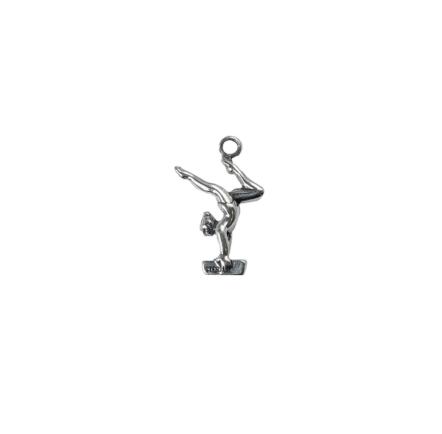Gymnast on Beam Charm