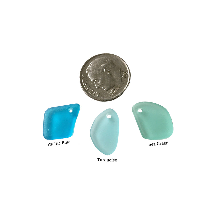 Small Sea Glass Pendant Charm