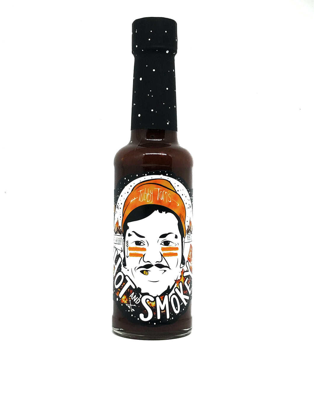 Hot x Smokey - Fiery Homemade BBQ Sauce