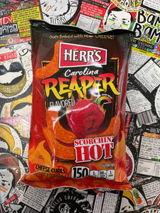 Herr's Carolina Reaper Flavoured Cheese Curls 1oz (28.4g)