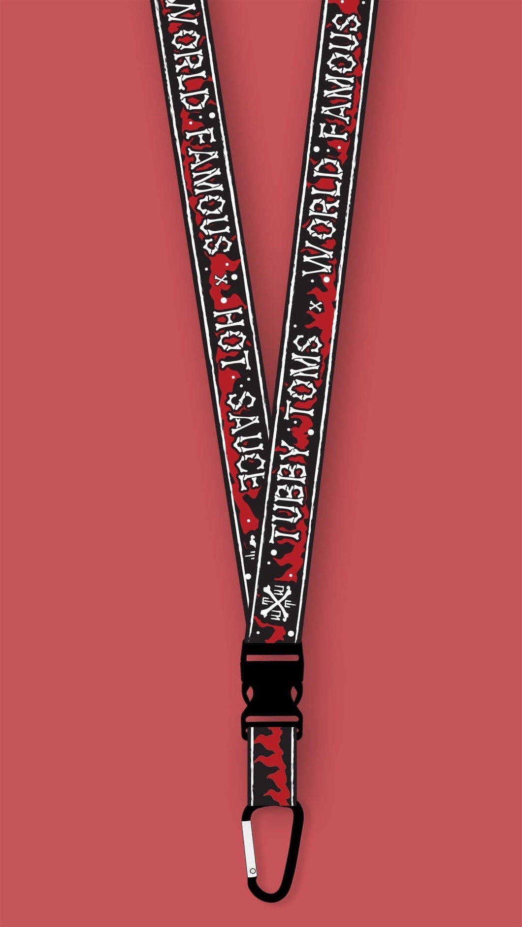 TUBBY TOM'S - O.G HELL FIRE LANYARD
