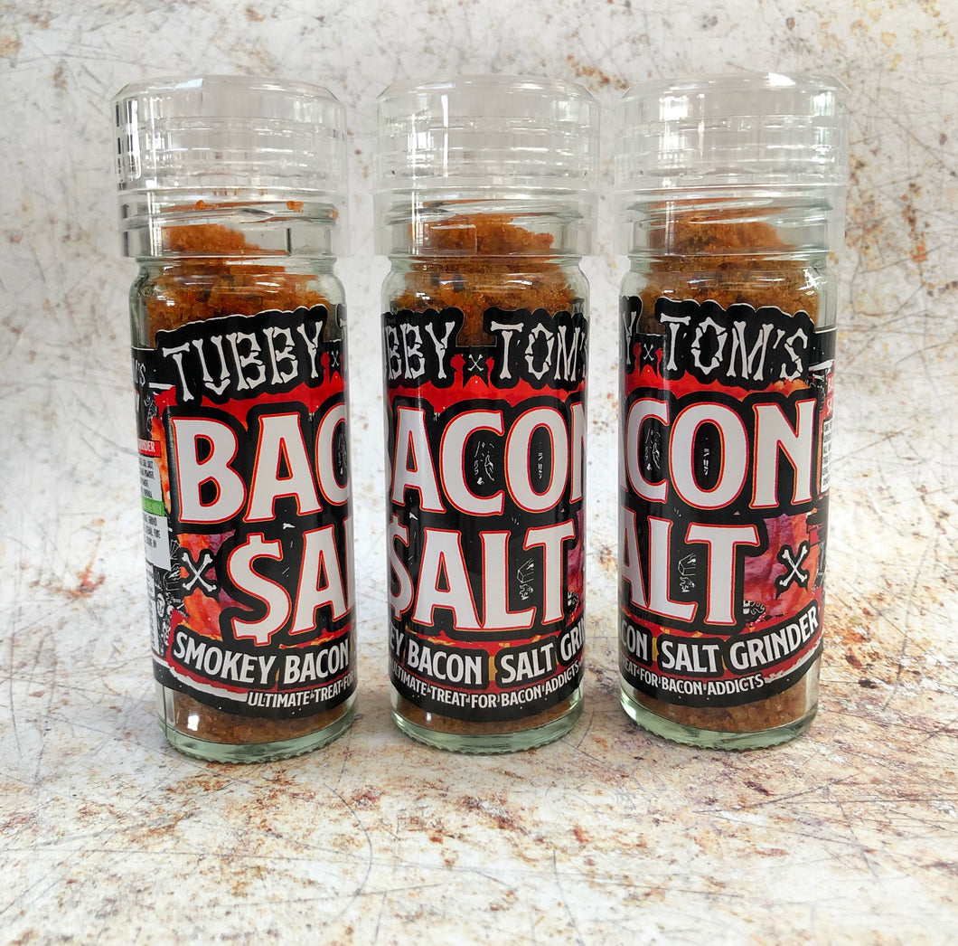 BACON SALT - SMOKEY BACON SEA SALT GRINDER