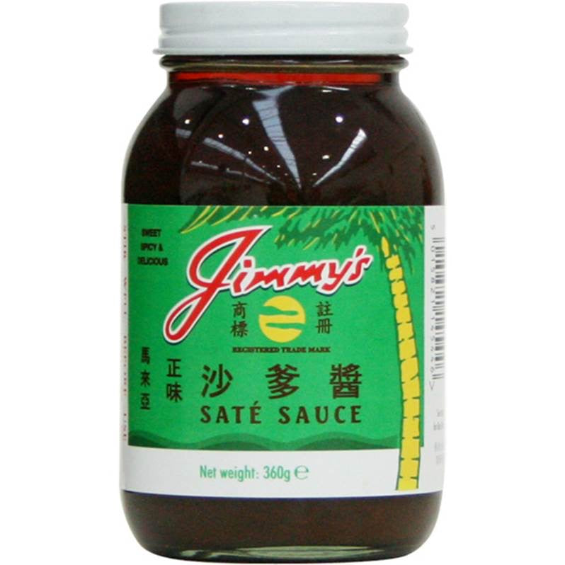 Jimmy's Original Sate Sauce - The Best Satay